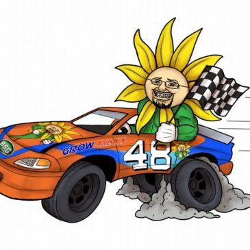 GrowMaxx.com Racing Logo