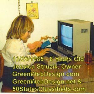 Jessica Struzik, 1985, Commodore 64