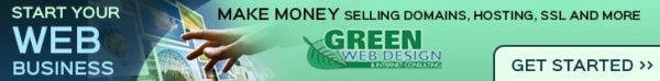 Green Web Design & Internet Consulting Banner